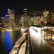 Stock Photo: Night cityscape Sydney, Australia