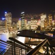 Night skyline Sydney, Australia — Stock Photo