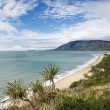 Queensland scenic coast. - Stock Photo