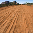 Dirt road Kata Tjuta — Stock Photo