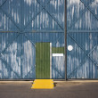 Warehouse exterior. - Lizenzfreies Foto