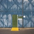 Warehouse exterior. - Stock Photo
