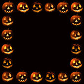 Halloween frame — Stock Photo