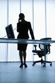 Assistente administrativo. — Foto Stock