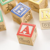 Building blocks. — 图库照片