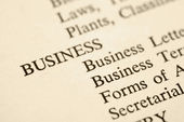 Business categories. — Stock Photo