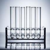 Test tubes. — Stock Photo