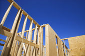 New construction frames. — Foto Stock