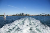 Skyline of Sydney, Australia. — Stock Photo
