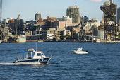 Vodní taxi, austrálie. — Stock fotografie