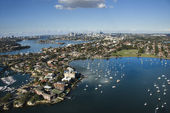 Sydney Australia aerial. — Stock Photo