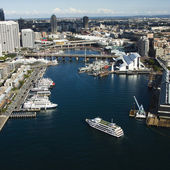Darling Harbour, Australia. — Stockfoto