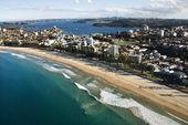 Beachfront property, Australia. — Stock Photo