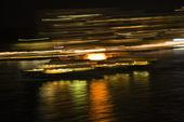 Bulanık ışıklar sydney, avustralya — Stok fotoğraf