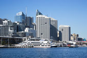 Darling Harbour, Sydney. — Stockfoto