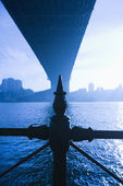 Under Sydney Harbour Bridge. — Stockfoto