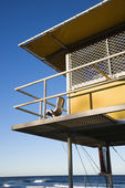 Lifeguard shack. — Stock Photo