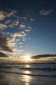 Sunset over ocean. — Stock Photo