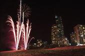 Fireworks in Australia. — Stock Photo
