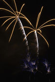Fireworks display. — Stock Photo