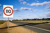 Australië verkeersbord — Stockfoto