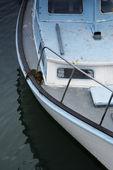моторная лодка. — Стоковое фото