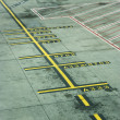 Melbourne Airport runway - Stock Photo