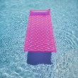Royalty-Free Stock Photo: Pink float in  pool.