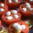 Tomatoes and  cheese. - Stock Photo