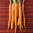 Bunch of carrots. — Stock Photo