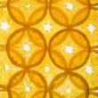 Royalty-Free Stock Photo: Layered orange slices.