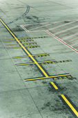 Melbourne Airport runway — Stock Photo