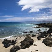 Rocky beach in Maui. — Stock Photo