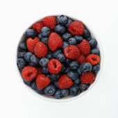 Bowl of berries. — Stock Photo