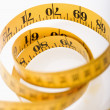 Foto de Stock  : Measuring tape.