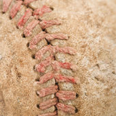 Old baseball. — Stock Photo