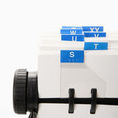 Rolodex. — Stock Photo