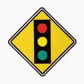 Stoplight sign. — Stock Photo