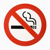 No smoking logo. — Stock Photo