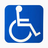 Handicap sign. — Stock Photo