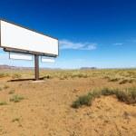 Desert billboard. — Stock Photo #9301994