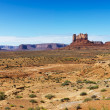 Stock Photo: Desert butte landscape.