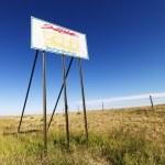 South Dakota road sign. — Stock Photo