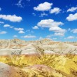 Hills in the South Dakota Badlands — Stock Photo