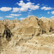 Mountains in the South Dakota Badlands — Stock Photo