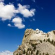 Mount Rushmore and sky. - Photo