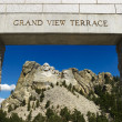 Mount Rushmore entrance. - Stock Photo