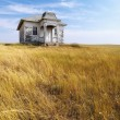 Old abandoned house. - Stock Photo