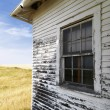 Stock Photo: Weathered building.