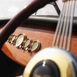 Boat steering wheel. — Stock Photo #9305206